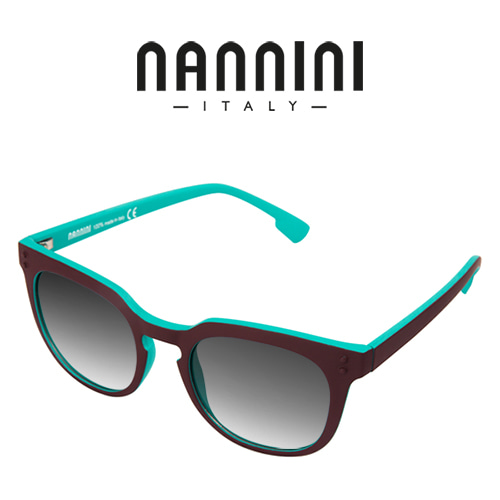[NANNINI] HOPE / Bordeaux+Azure - Gradient Color Lense