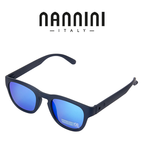 [NANNINI] PARIS / Matt Dark Blue - Revo Blue Lense