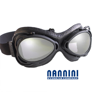 [NANNINI] Vintage STREETFIGHTER Black / Motorcycle, Snowboard용 고글