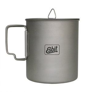 [ESBIT] 750ml Titanium Pot