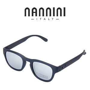 [NANNINI] PARIS / Matt Night Blue - Silver Mirror Lense