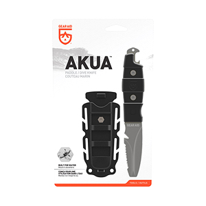 [GEARAID] Adventure Knife / AKUA 워터레저용 - Black